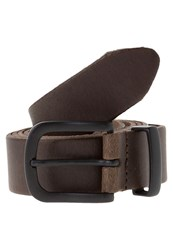 Zign Belt Cacao Dark Brown