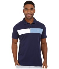 Puma Short Sleeve Cool Touch Polo Peacoat Men's Short Sleeve Pullover Blue
