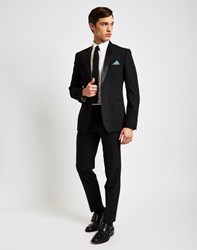 The Idle Man Tuxedo Trousers In Slim Fit