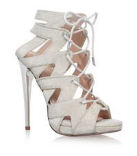Kurt Geiger Kg Hoxton Lace Up Sandal Female Gold