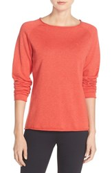Fjall Raven Women's Fj Llr Ven 'Vik' Cotton And Wool Pullover Coral
