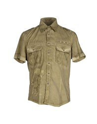 Kejo Shirts Shirts Men Military Green
