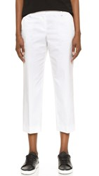 Dkny Cropped Pants White