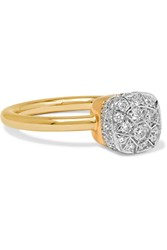 Pomellato Nudo 18 Karat Rose Gold Diamond Ring