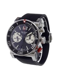 Hanhart 'Primus Diver' Analog Watch Stainless Steel