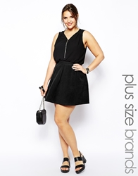 Alice And You Pleat Skirt Black