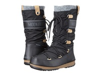 Tecnica Moon Boot Monaco Felt Black Women's Cold Weather Boots