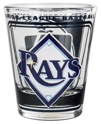 Hunter Manufacturing Tampa Bay Rays 3D Collector Glass Team Color