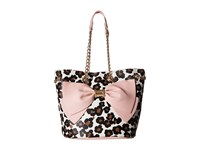 Betsey Johnson Still Hopelessly Romantic Bucket Leopard Handbags Animal Print