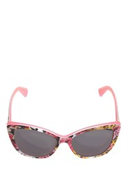 Dolce And Gabbana Bouquet Printed Acetate Sunglasses