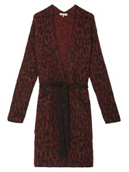 Gerard Darel Perth Cardigan Dark Red