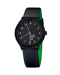 Mondaine Helvetica No1 New York Edition Watch 40Mm Black