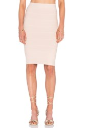 Bcbgmaxazria Alexa Mini Skirt Blush