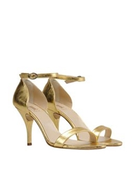 George J. Love Sandals Gold