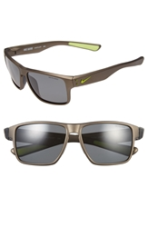 Nike 'Mavrk' 59Mm Sunglasses Anthracite Volt Grey Polar