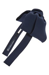 Cara Bow Headband Navy