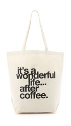 Dogeared It's A Wonderful Life Tote Coffee