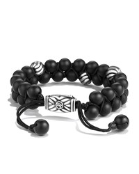 Spiritual Bead Bracelet Black Onyx David Yurman
