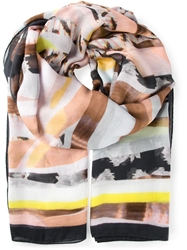 Lala Berlin 'Allnighter' Scarf Multicolour