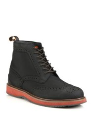 Swims Barry Brogue Lace Up Boots Black