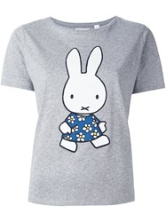 Chinti And Parker Miffy Applique T Shirt Grey