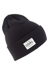 Coal Women's 'The Uniform' Beanie Black Solid Black