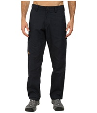 Fj Llr Ven Vik Trousers Dark Navy Men's Casual Pants