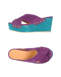Fiorina Sandals Purple