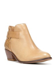 Dr. Scholl's Jonet Leather Ankle Boots Nude