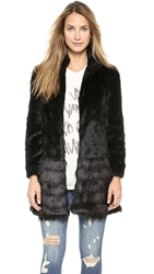 Unreal Fur A Capella Coat Black
