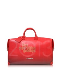 Bric's Campari Limited Edition Weekender Travel Bag Red