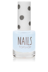 Topshop Nails In Buff Light Blue