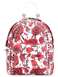 Philipp Plein 'Nippon' Backpack White