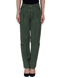 Plein Sud Jeanius Casual Pants Green