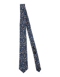 Daniele Alessandrini Homme Accessories Ties Men Dark Blue