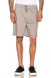 A.P.C. Hyde Park Shorts In Gray