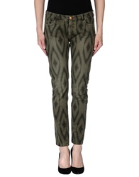 Monocrom Denim Pants Military Green