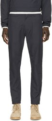 Nanamica Navy Slim Trousers