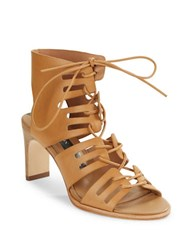 Matt Bernson Miro Lace Up Sandals Wheat