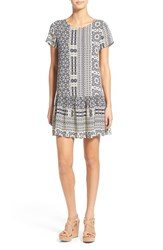 Women's Everly Print Drop Waist Shift Dress