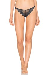 Only Hearts Club So Fine Lace Thong Navy