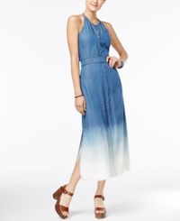 American Rag Dip Dyed Denim Maxi Dress Only At Macy's Preston Wash