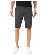 Oakley 50'S Melange Shorts Jet Black Heather Men's Shorts