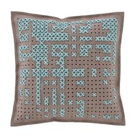 Gandia Blasco Canevas Square Abstract Cushion