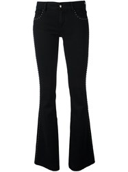 The Seafarer 'Syrena' Flared Jeans Black