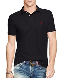 Polo Ralph Lauren Mesh Slim Fit Shirt Polo Black