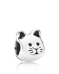Pandora Design Pandora Charm Sterling Silver Curious Cat Moments Collection