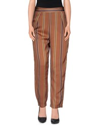 Made For Loving Trousers Casual Trousers Women Cocoa