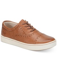 Born Born Cymbal Lace Up Sneakers Women's Shoes Cognac