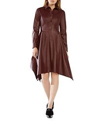 Bcbgmaxazria Beatryce Faux Leather Dress 100 Bloomingdale's Exclusive Royal Port